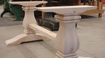 Square turnings/table bases