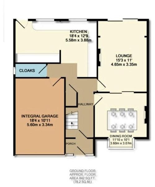 ideas sought for a garage conversion. Black Bedroom Furniture Sets. Home Design Ideas
