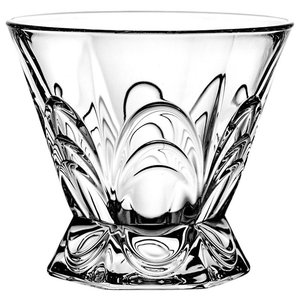 Decorative Arches Lead Crystal Glasses, Set of 6