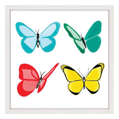 """""""Butterflies"""" Framed Print by Molly Rosner"""