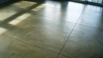 Cement floor - Overlay - Russian River