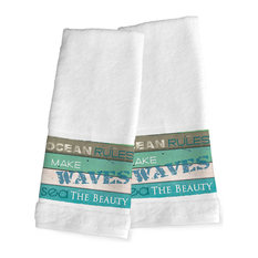 Rustic Bath Towels