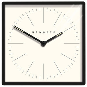 Newgate Mr Robinson Wall Clock, Black