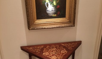 A late 18th century portable gaming table