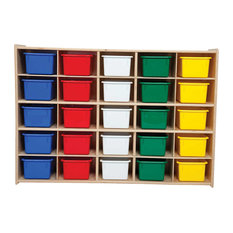 Contender 25 Tray Storage With Assorted Trays - Unassembled