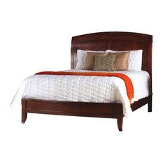 Brighton Twin Low Profile Sleigh Bed, Cinnamon
