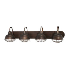 Bathroom Vanity Lights In Bronze oil-rubbed bronze bathroom vanity lights | houzz