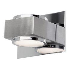 Valina Single Bathroom Wall Light, Chrome