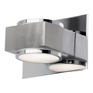 Valina Single Bathroom Wall Light, Chrome