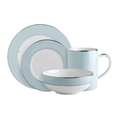 Fairmont and Main - Fairmont and Main Cheltenham Dinner Set Blue and White 16  sc 1 st  Houzz & Most Popular Dinnerware Sets for 2018 | Houzz