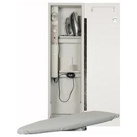 Deluxe Swivel Electric Ironing Center, Flat White Door