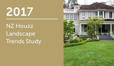 2017 NZ Houzz Landscape Trends Study