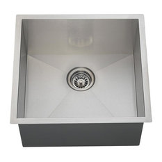 Single Bowl 90 Degree Stainless Steel Utility Sink, Sink Only