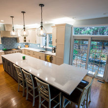 Transitional Kitchen Using Bertch Cabinets