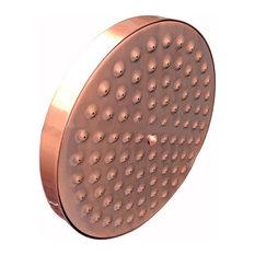 "Juno Antique Red Copper 8"" Bathroom Rainfall Shower Head"