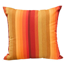 "16"" Square Outdoor Toss Pillow, Astoria Sunset"