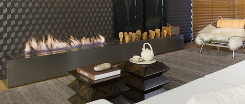 Creative Fireplace Design For Residential and Commercial Use - Accessoire et Décoration
