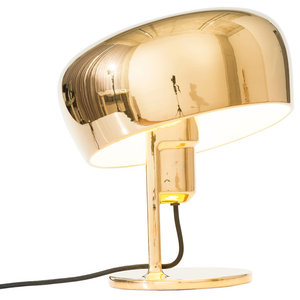 Formagenda Coppola Table Lamp, Gold and White