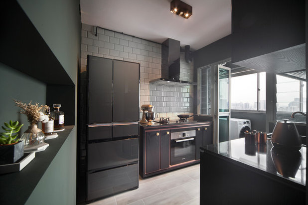 Contemporary Kitchen by The Scientist Pte Ltd
