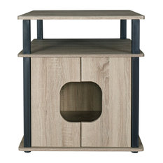 Itsy Pet Bedside Table Dark Taupe