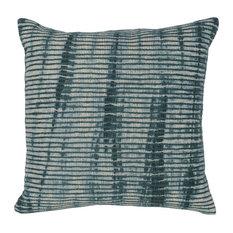 "Enzo Linen 22"" Throw Pillow, Green by Kosas Home"