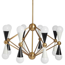 Midcentury Chandeliers by Jonathan Adler