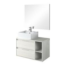 Soul 2-Piece Bathroom Vanity Unit, Hibernian Finish, 120 cm