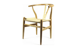 Fine Mod Imports Woodstring Dining Chair, Natural