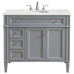 Transitional Bathroom Vanities And Sink Consoles by LIGHTING JUNGLE
