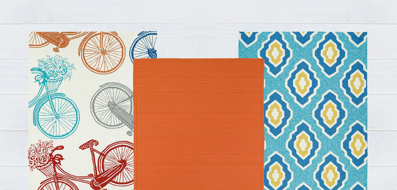 Shop Houzz: Up To 70% Off Bright Outdoor Rugs
