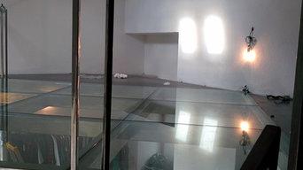 SOPPALCO in vetro stratificato trasparente temperato