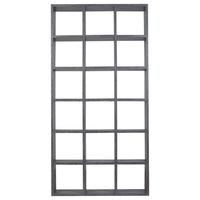 Modern Grey Modular Cube Bookshelf