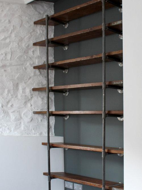 Scaffolding Plank Shelving Houzz