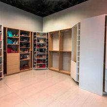 A Spinning Shoe Rack and a Revolving Closet Organizer
