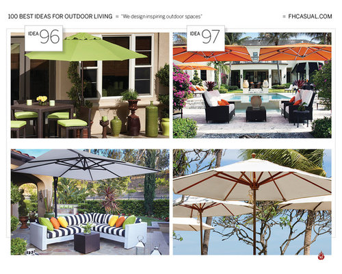 100 Best Ideas For Outdoor Living - Outdoor Seating and Outdoor Dining Sale - Outdoor Umbrellas