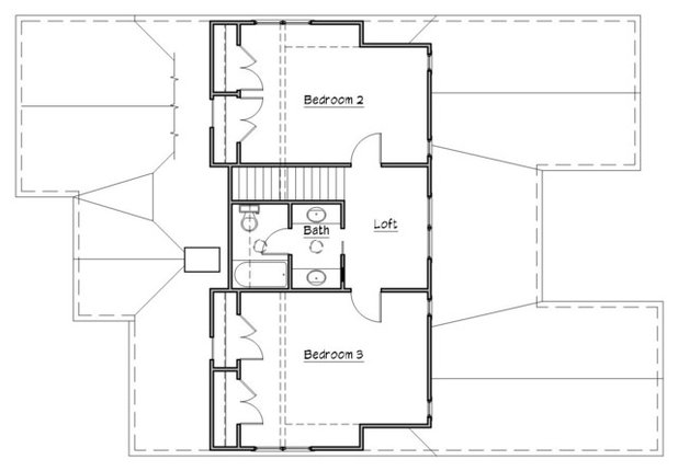 Transitional Floor Plan by Studio Z Architecture