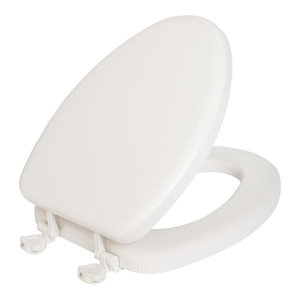 Terrific Mayfair 13Ec 000 Lift Off Cushioned Vinyl Round Toilet Seat Pdpeps Interior Chair Design Pdpepsorg