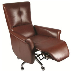 Spectacular Modern Office Chairs Relaxer Brown Office Chair Recliner