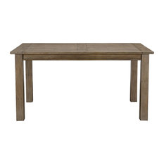 """Driftwood Reclaimed Pine 60"""" Dining Table by Kosas Home"""