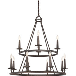 Simple Traditional Chandeliers by Lighting and Locks