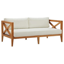 Transitional Outdoor Sofas by Homesquare