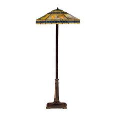 """Meyda Lighting 26567 64""""H Cambridge Floor Lamp"""