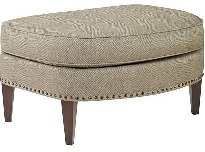 Hickory Chair Ottomans And Benches   Footstools And Ottomans