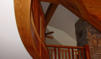 Jatoba and White Oak Stair Case