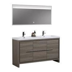Brilliant 50 Most Popular 55 To 59 Inch Bathroom Vanities For 2019 Houzz Download Free Architecture Designs Rallybritishbridgeorg