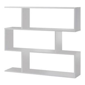 Athena Shelf Unit, White