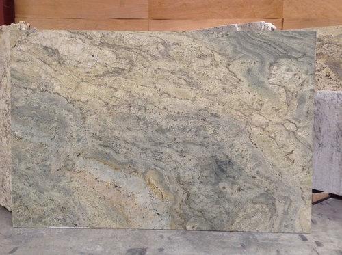 Need help selecting between 2 surf green granite slabs