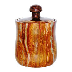 """Nature home Decor Multi Onyx 8"""" Tall Modern Kitchen Canister"""