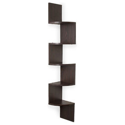 Transitional Display And Wall Shelves  by ShopLadder