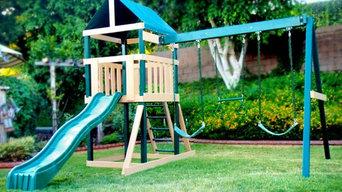 Congo Safari Swing Set - Maintenance Free